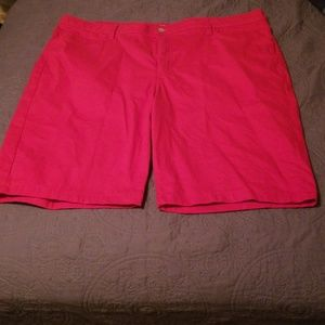 Lee Riders Bermuda Shorts Red